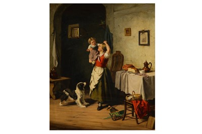 Lot 135-JAN WALRAVEN (DUTCH 1827 - CIRCA 1863)