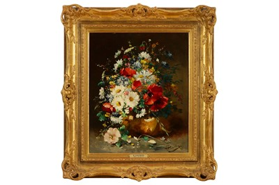 Lot 133-EUGENE HENRI CAUCHOIS (FRENCH 1850 - 1911)