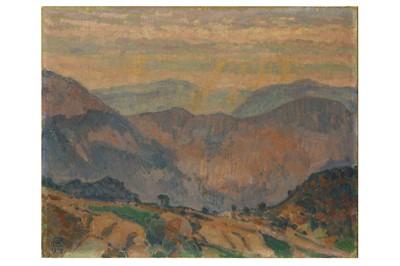 Lot 115-THEO VAN RYSSELBERGHE (BELGIAN 1862 - 1926)