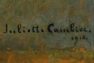 Lot 114-JULIETTE CAMBIER (BELGIAN 1879 - 1963)