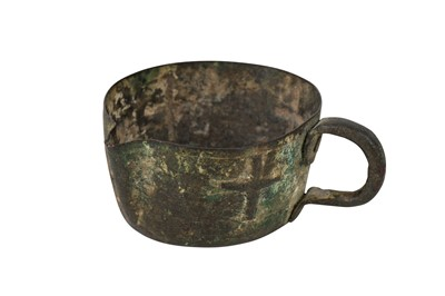 Lot 10-A MEDIEVAL BRONZE CUP