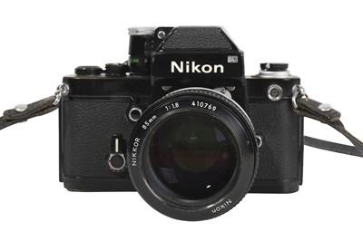 Lot 75-A Nikon F2 Photomic SLR Camera