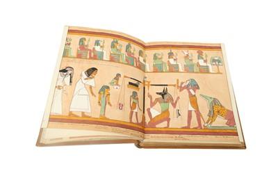 Lot 894-THE BOOK OF THE DEAD MANUSCRIPT
