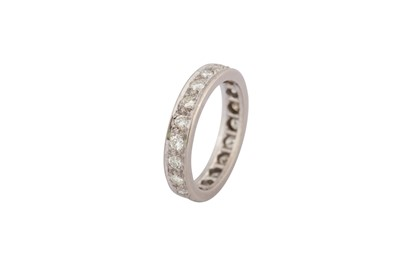 Lot 31-A diamond eternity ring