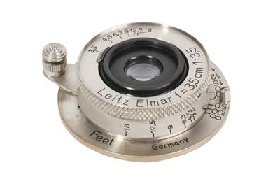Lot 91-A Leitz 3.5cm f/3.5 Elmar Lens