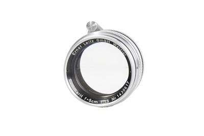 Lot 93-A Leitz 5cm f/1.5 Summarit Lens