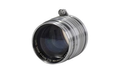 Lot 94-A Leitz 5cm f/1.5 Xenon Lens