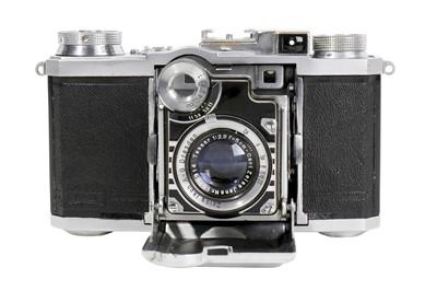 Lot 69-A Zeiss Ikon Super Nettel II (537/24) Folding Camera