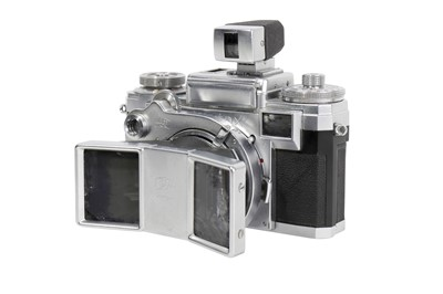 Lot 67-A Zeiss Ikon Contax IIIa Stereotar C 35mm Rangefinder Camera Outfit