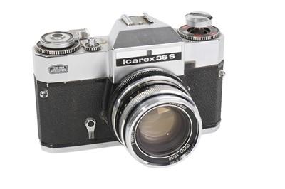 Lot 68-A Zeiss Ikon Icarex 35S SLR Camera