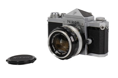 Lot 70-A NIkon F SLR Camera