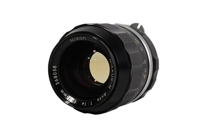 Lot 78-A NIkon 35mm f/1.4 Nikkor-N Auto Lens