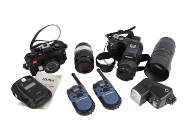 Lot 473-A Selection of Cameras & Accessories