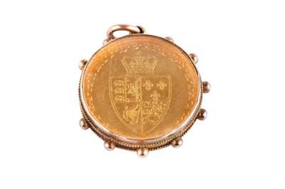 Lot 114-A George III full guinea pendant