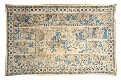 Lot 130-A COTTON PICHHWAI TEMPLE HANGING