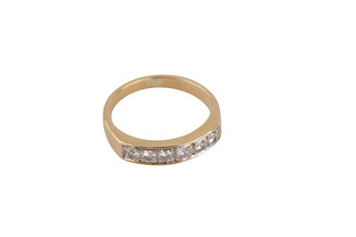 Lot 127-A half eternity ring