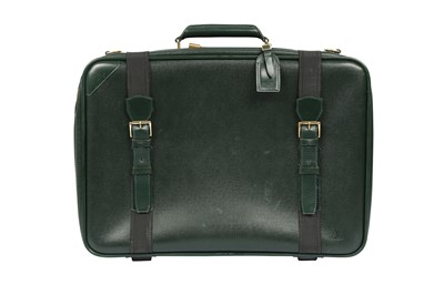 Lot 1233-Louis Vuitton Green Taiga Mitka Suitcase 53