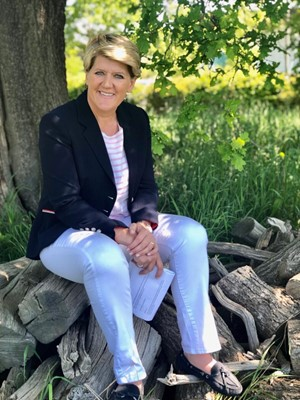 Lot 10 - A walk and lunch for up to four people with broadcaster and author Clare Balding