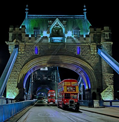 Lot 20 - Christmas lights tour for forty on a Routemaster London bus
