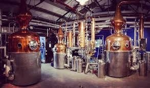 Lot 37-Tea at Olympic Studios & a tour of Sipsmith distillery for two