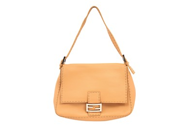 Lot 231 - Fendi Beige Selleria Mama Baguette Bag