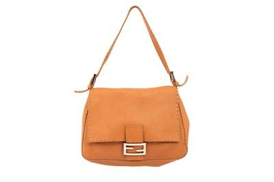 Lot 279 - Fendi Tan Selleria Mama Baguette Bag