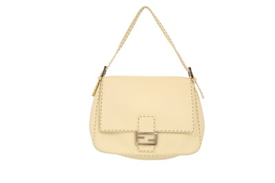 Lot 310 - Fendi Cream Selleria Mama Baguette Bag