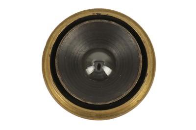 Lot 1-An Emil Busch Pantoscop Early Wide Angle Brass Lens
