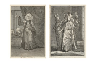 Lot 815-TWO LITHOGRAPHED PLATES: THE MUFTI AND THE NOBLEMAN