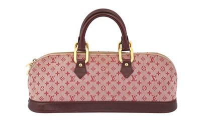 Lot 37-Louis Vuitton Sepia Monogram Idylle Horizontal Alma