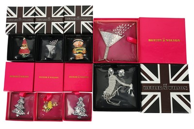 Lot 136-A group of costume jewellery, by Butler & Wilson