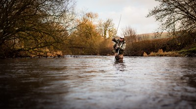 Lot 33-Fly Fishing on the River Kennet