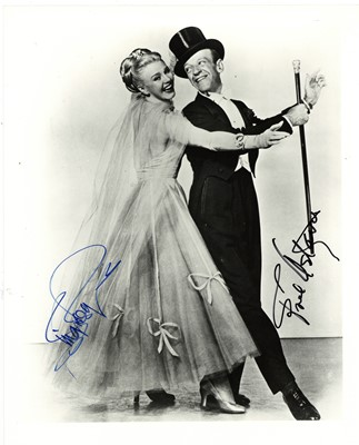 Lot 146-Astaire (Fred) & Ginger Rogers