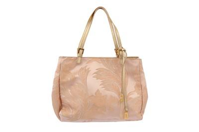 Lot 23-Dolce & Gabbana Pink Metallic Brocade Bag