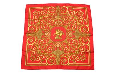 Lot 16-Hermes 'Les Tuileries' Silk Scarf