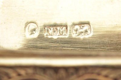 Lot 9-A Victorian sterling silver vinaigrette, Birmingham 1842 by Nathanial Mills