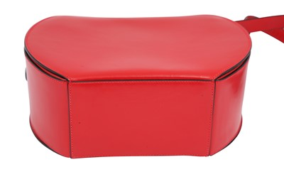 Lot 1215-Celine Red Shoulder Bag