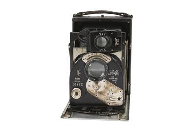 Lot 16-A Newman Guardia New Special Sibyl Strut Folding Camera