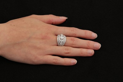 Lot 7-A diamond dress ring, by Mozafarian