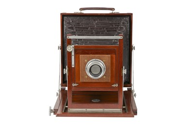 Lot 56-A Sands, Hunter & Co 'The Cranbourn' 5x4 Field Camera