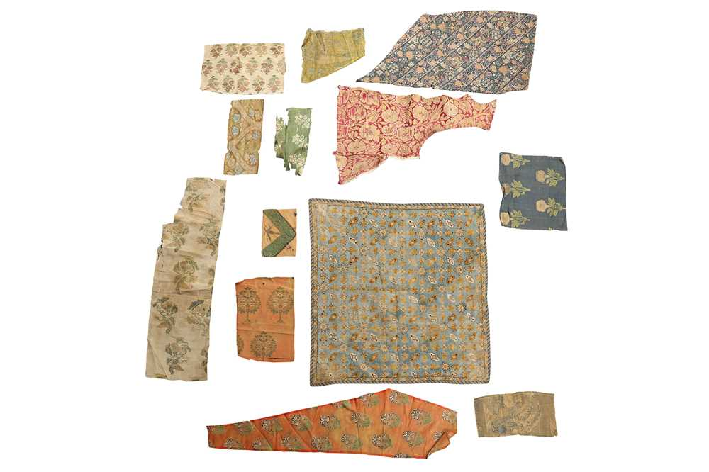Lot 125-AN ACADEMIC COLLECTION OF TEXTILE FRAGMENTS