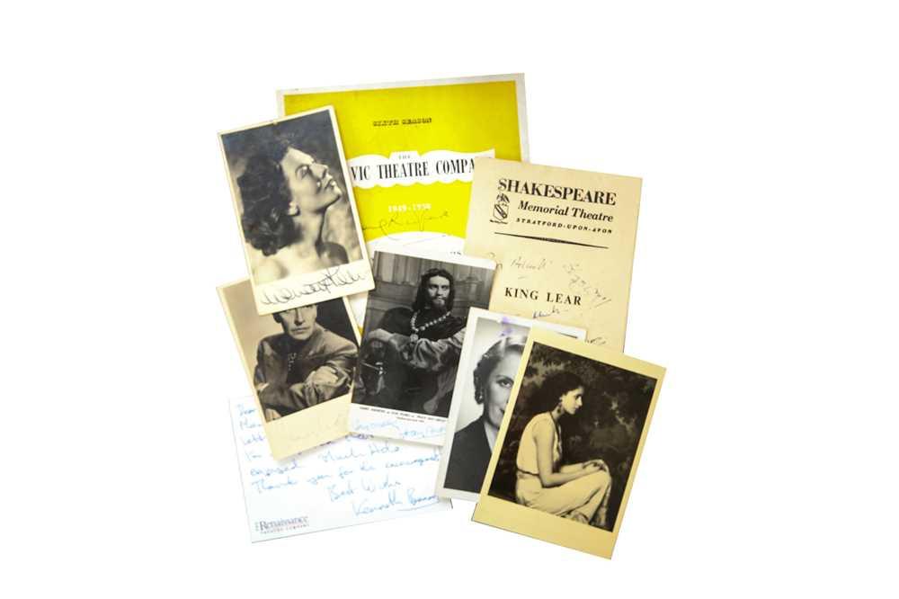 Lot 1440 - Autograph Collection.- Theatre Interest