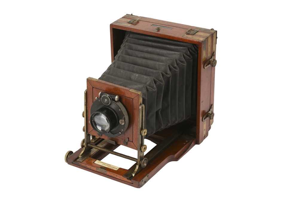 Lot 42-A J. Lancaster & Son Euryscope Half Plate Instantograph Camera