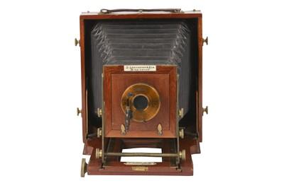 Lot 45-A J. Lancaster & Son 1902 B.B. Half Plate Instantograph Camera