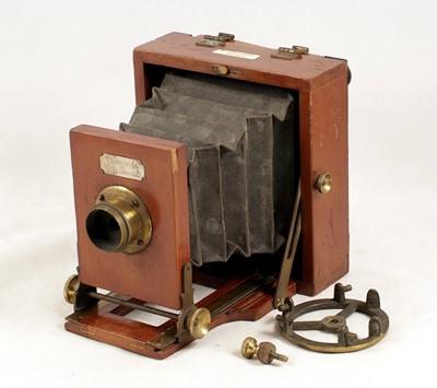 Lot 47-A J. Lancaster & Son 'Le Merveilleux' Half Plate Field Camera