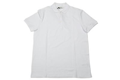Lot 1288-Versace Collection White Medusa Logo Polo Shirt - Size L