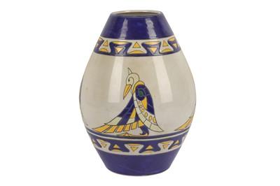 Lot 19-KERALOUVE LA LOUVIERE: A Belgian contemporary pottery vase
