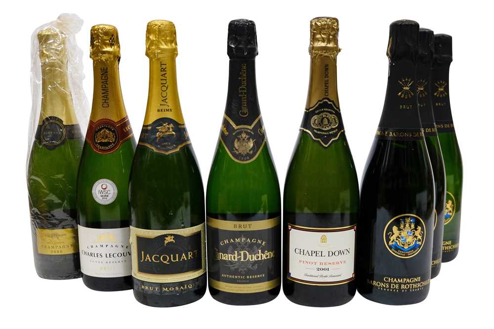 Lot 38-Mixed Champagne