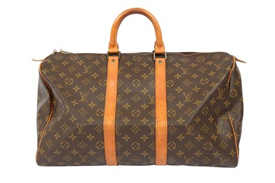 Lot 1243-Louis Vuitton Monogram Keepall 45