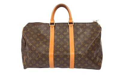 Lot 1244-Louis Vuitton Monogram Keepall 45